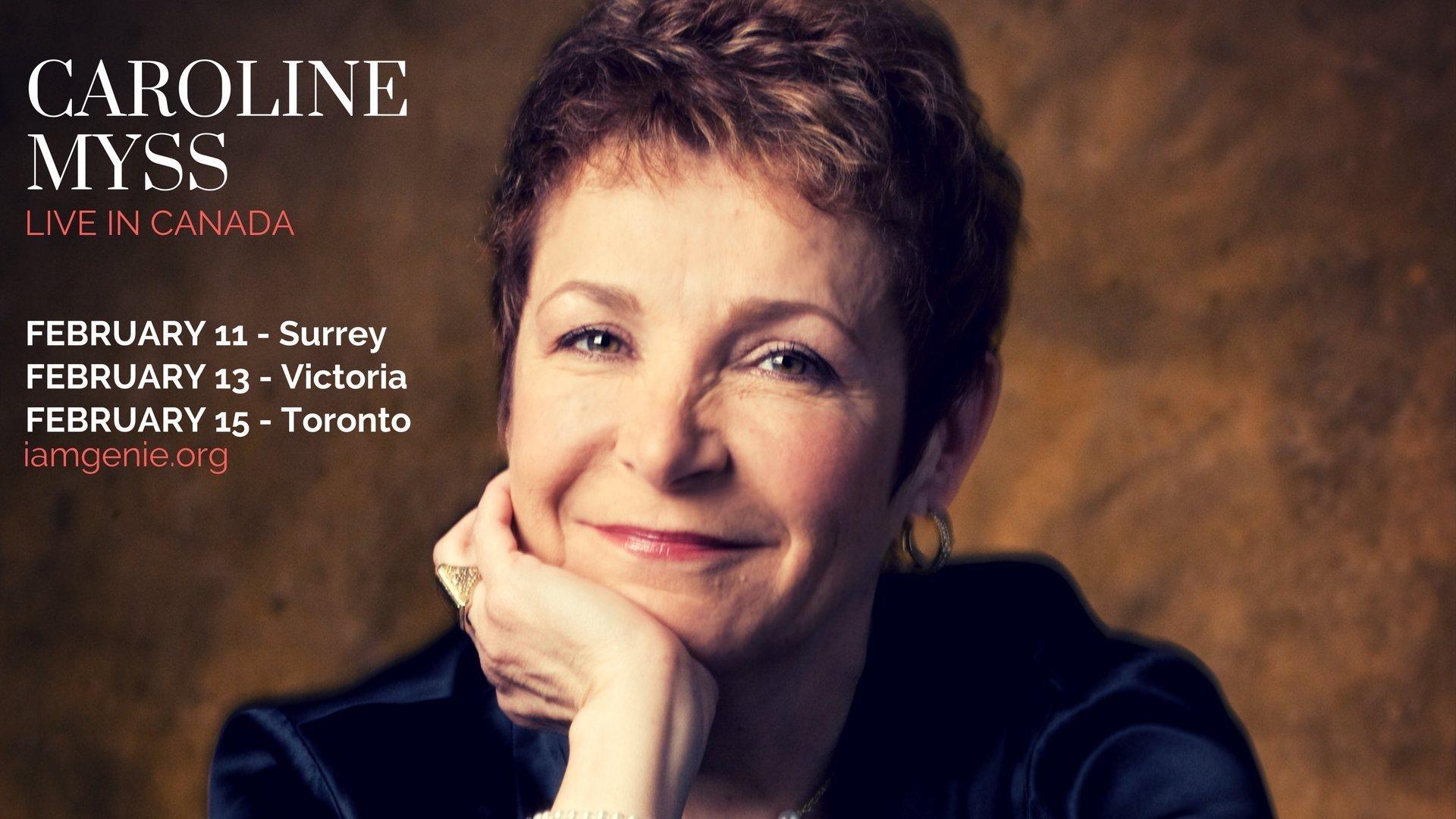 Author Caroline Myss Live in Surrey BC