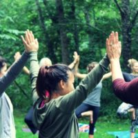 Back to Nature Yoga Retreat in Oregon with Ambuja Yoga