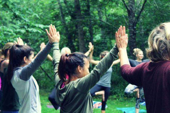 Back to Nature Yoga Retreat in Oregon with Ambuja Yoga