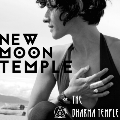 New Moon Temple at the Dharma Temple in Vancouver