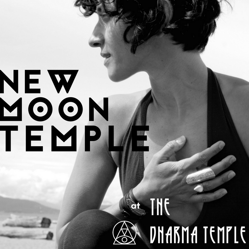 New Moon at the Dharma Temple