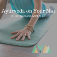 Ayurveda on Your Mat: 20hr Teacher Training in Seattle