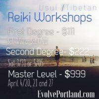 Reiki Training Portland