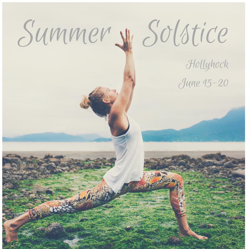 Summer Solstice Retreat at Hollyhock on Cortes Island