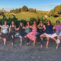 Ladies Yoga & Wine Retreat at the Vineyards