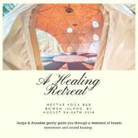 Her: A Healing Retreat at Nectar Yoga B&B on Bowen Island