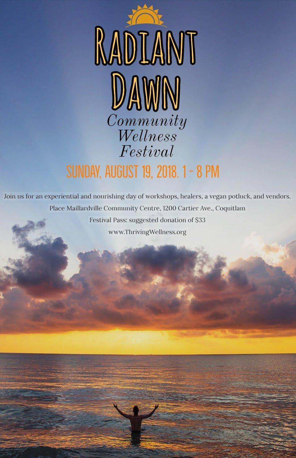 Radiant Dawn: Wellness Festival In Coquitlam