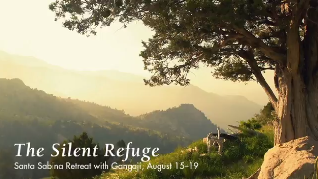 Santa Sabina Retreat with Gangaji < Head + Heart: Discover Mindful Events