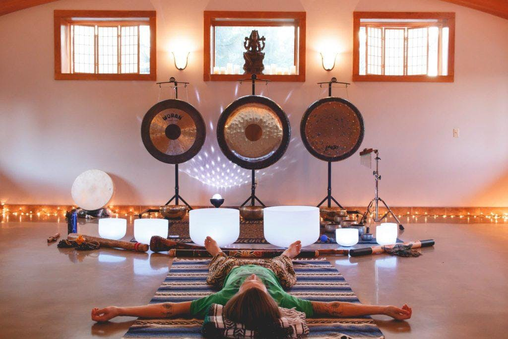 Sound Bath Sanctuary at HeartQuest on Commercial Drive