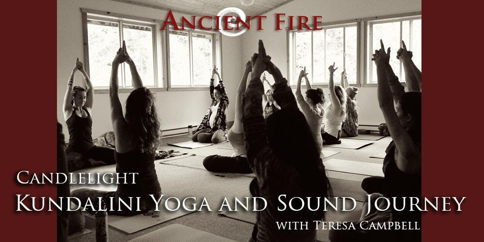 CANDLELIGHT KUNDALINI YOGA AND SOUND JOURNEY AT ANCIENT FIRE - Head + Heart