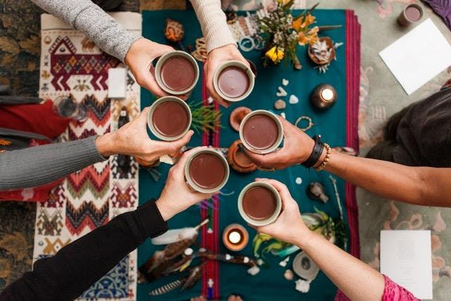 MONTHLY WOMEN'S CACAO MEDICINE CIRCLE WITH NICOLE GNUTZMAN - Head + Heart