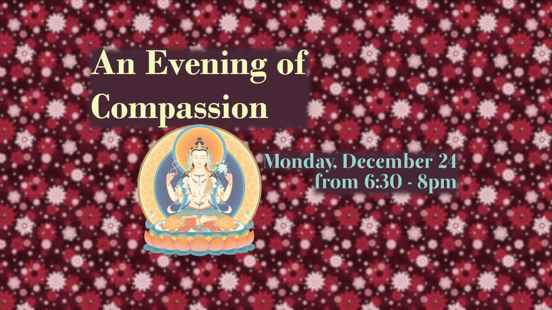 an evening of compassion candlelight christmas eve prayer service