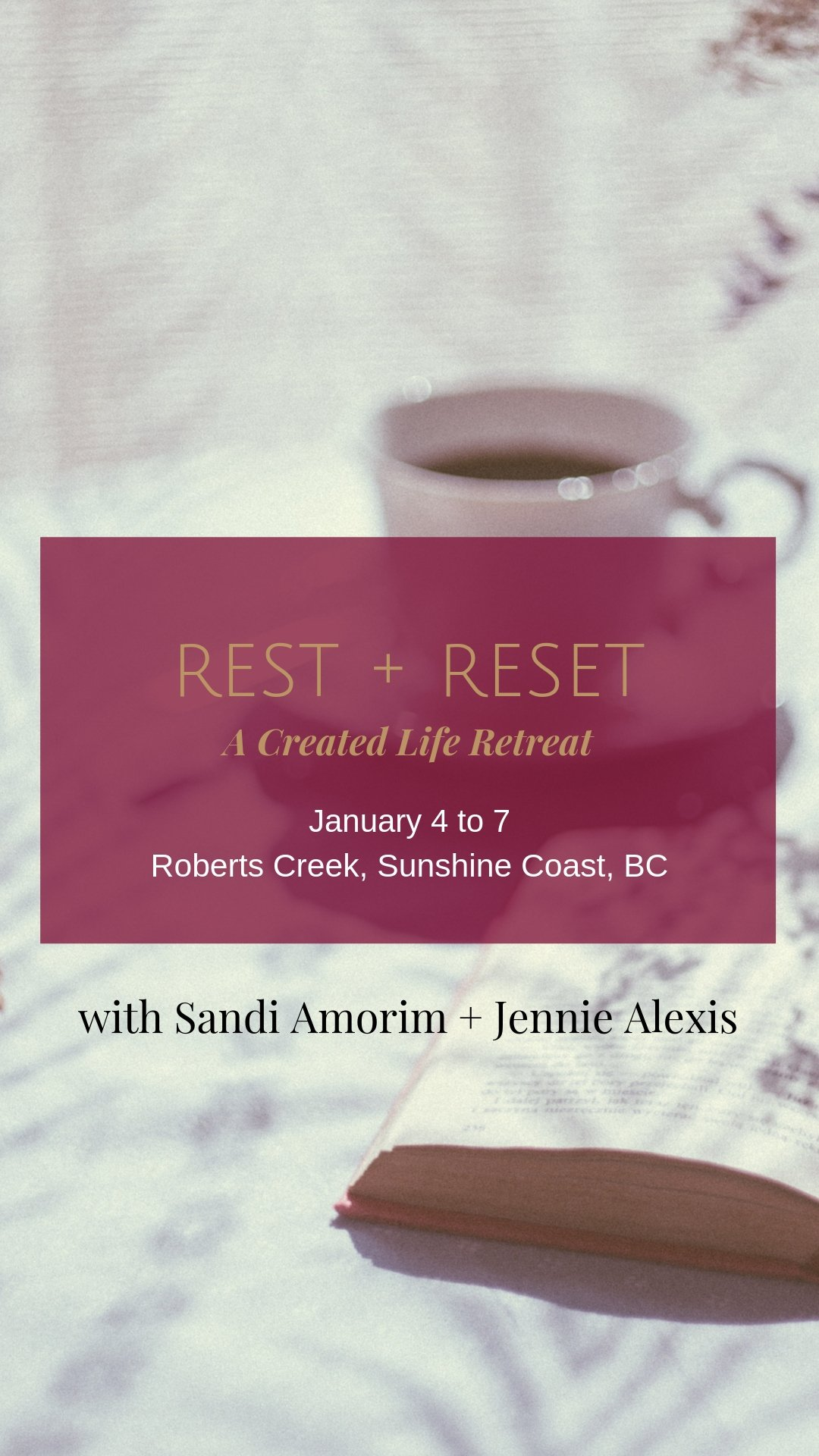 A Created Life Retreat with Sandi Amorim and Jennie Alexis < Head + Heart