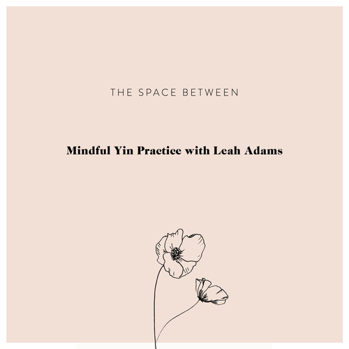 Join Leah Adams to discover The Space Between via A Mindful Yin Practice.