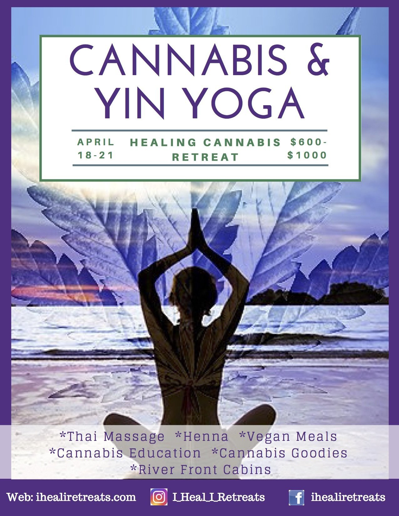 Healing Cannabis Retreat < Head + Heart: A Mindful Calendar
