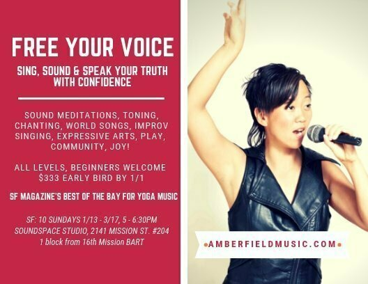 Free Your Voice with Amber Field