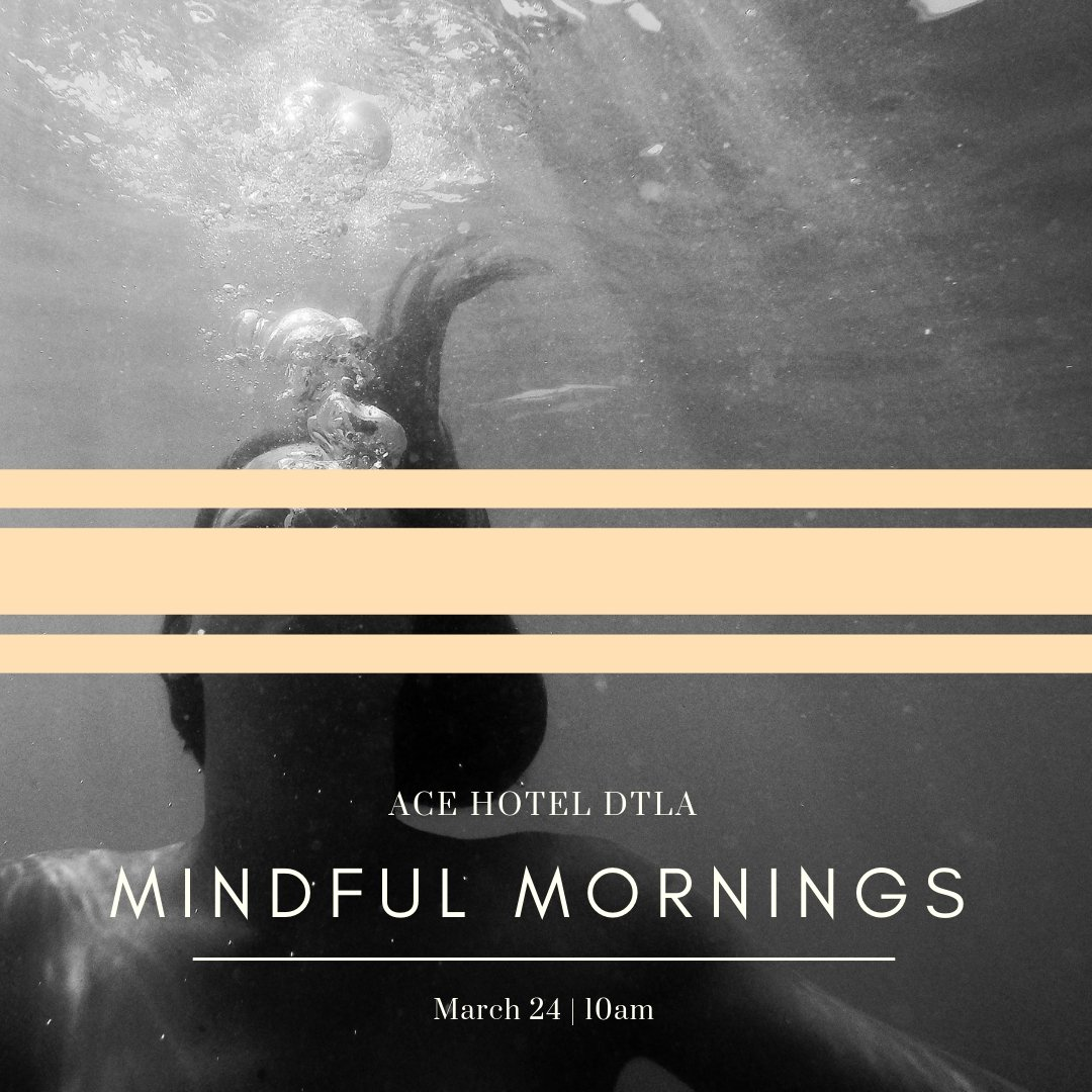 Mindful Mornings at the Ace Hotel: Guided Breathwork with Manuela Schoepfer