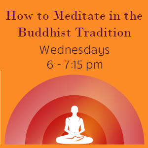 How to Meditate in the Buddhist Tradition
