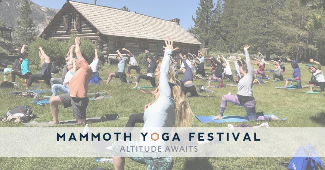 Mammoth Yoga Festival 2019