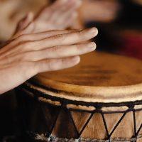 Libra Full Moon Drumming Circle with Connie Hill Head + Heart