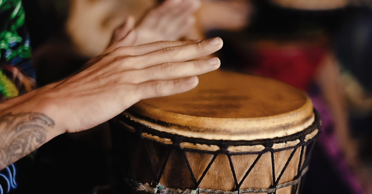 Libra Full Moon Drumming Circle with Connie Hill Head + Heart