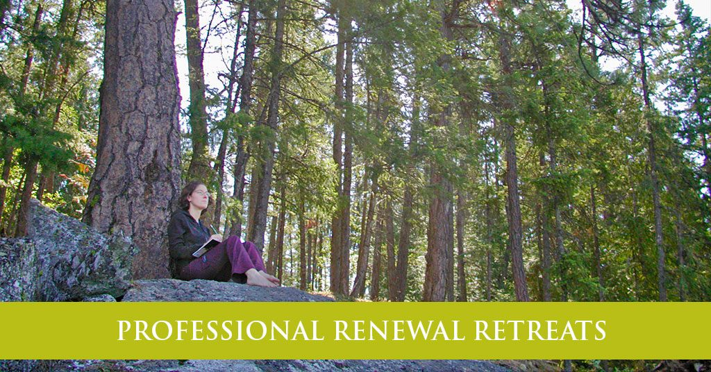 PROFESSIONAL RENEWAL RETREATS