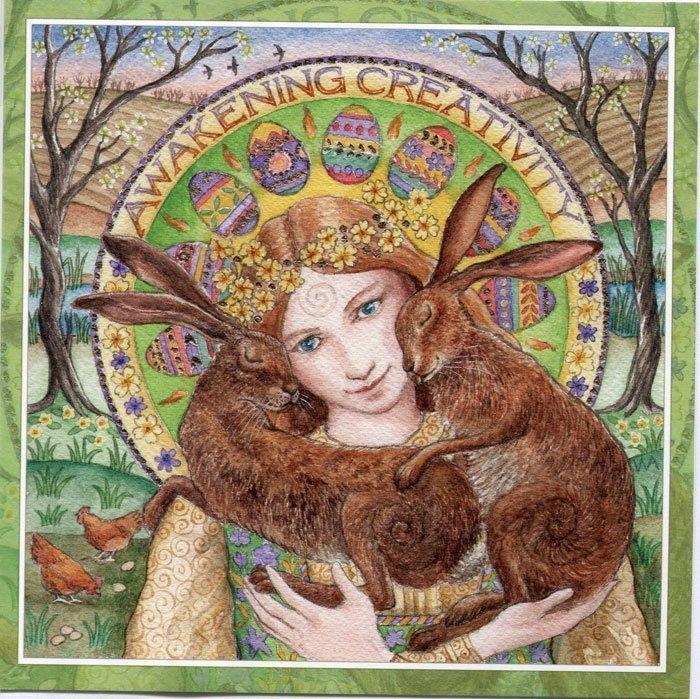 Ostara Blessings - Spring Equinox Ceremony at Noons Creek