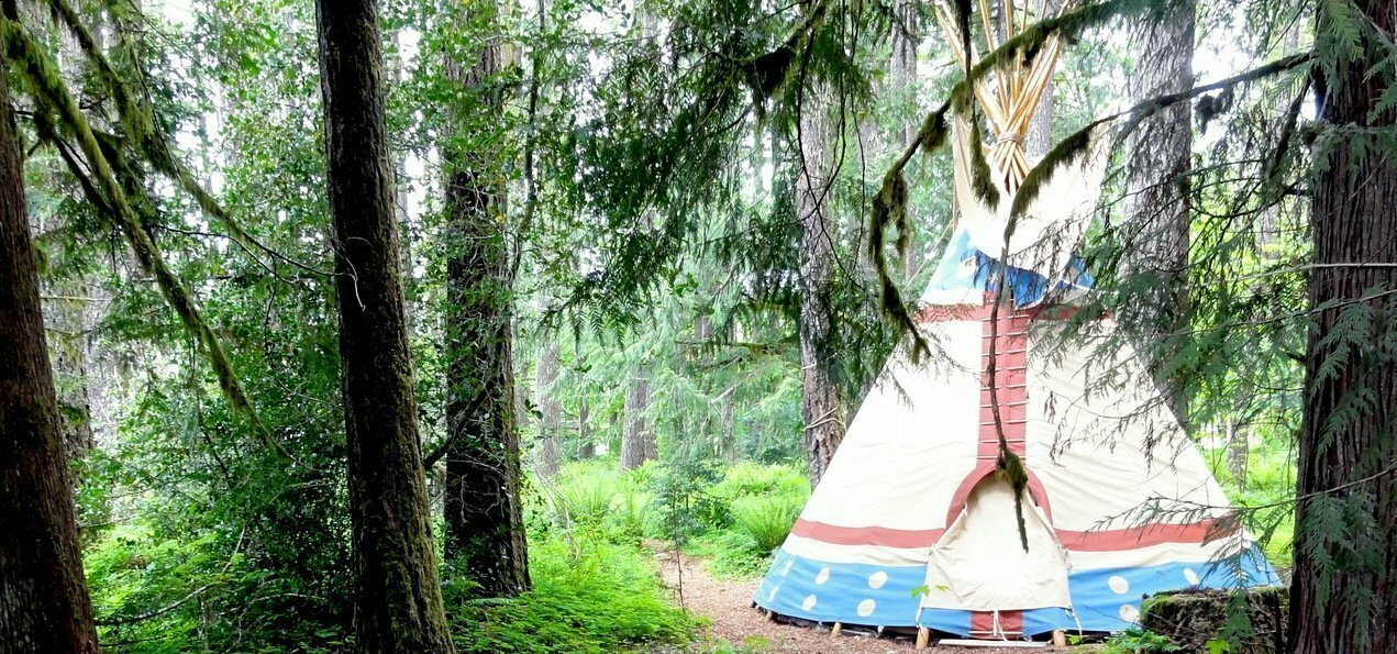 Tipi Village Retreat Oregon