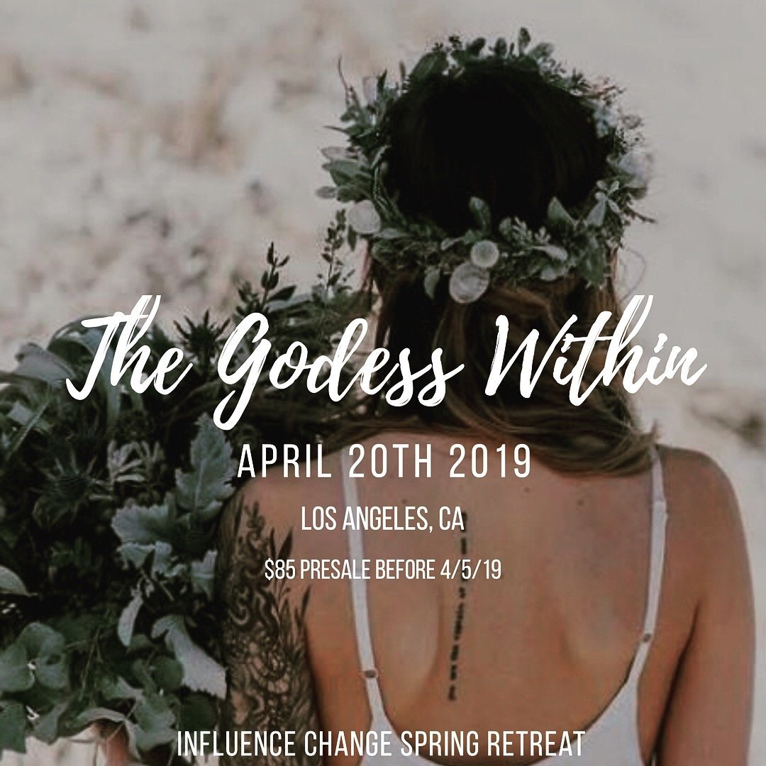 The Goddess Within Spring 1-day Retreat