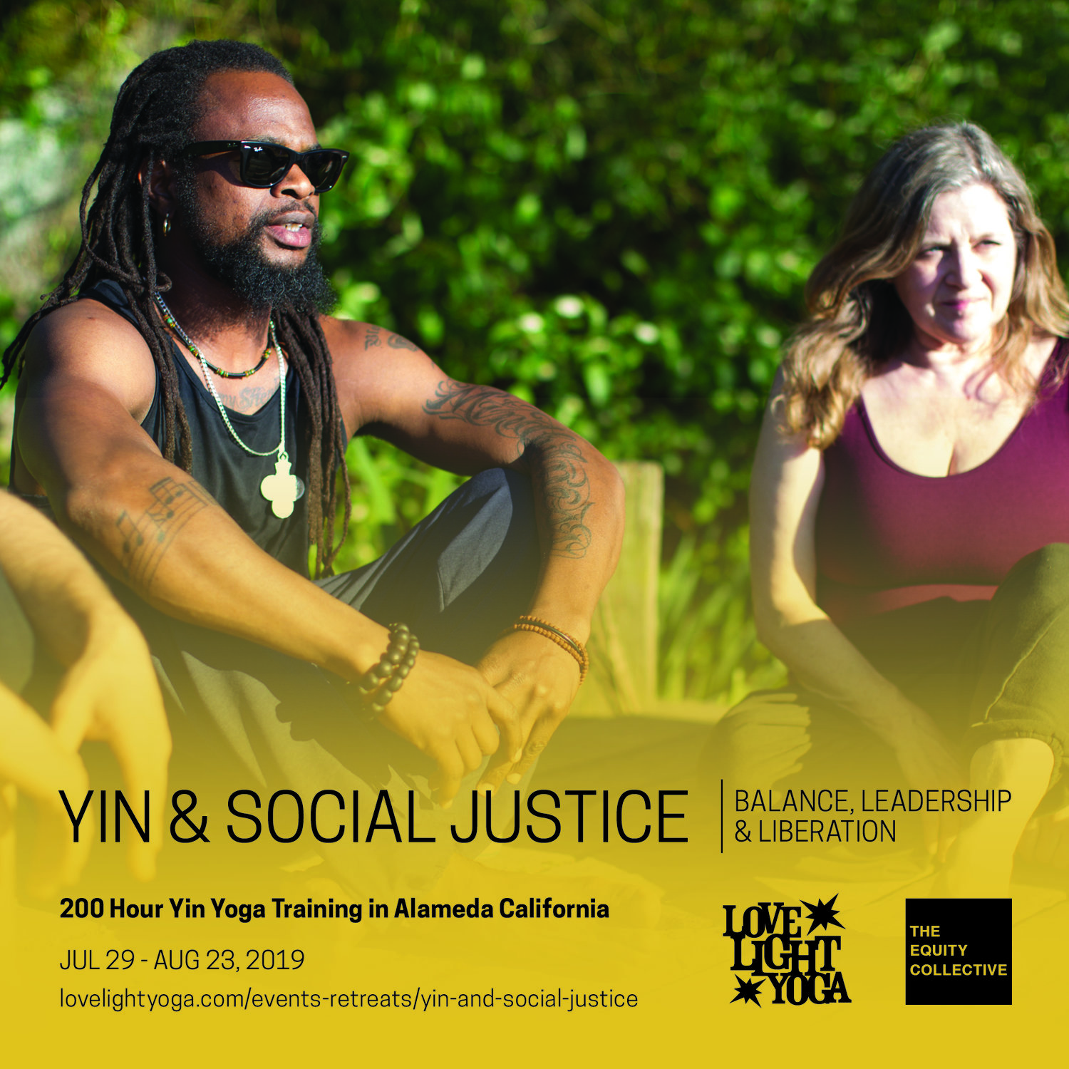Yin and Social Justice 200 Hour Teacher Training Retreat