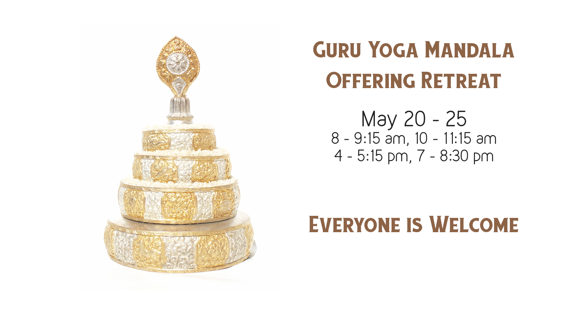 Guru Yoga Mandala Offering Retreat