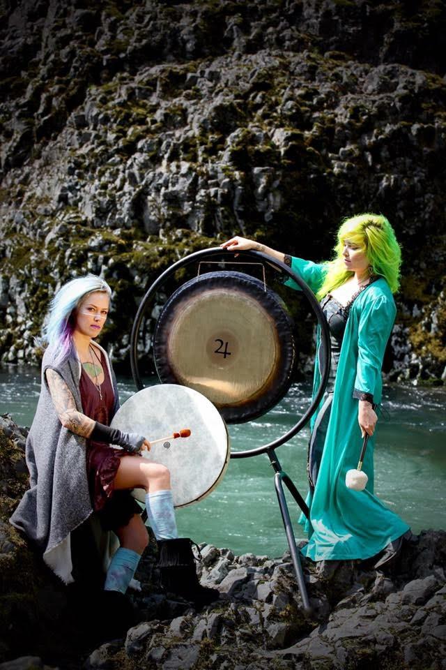 Shakti Gong Sound Healing with Stephanie and Sarah Starnes Head + Heart