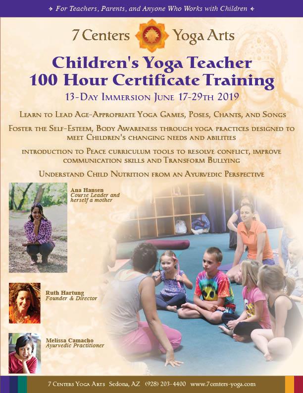 100hr Children's Yoga Teacher Training