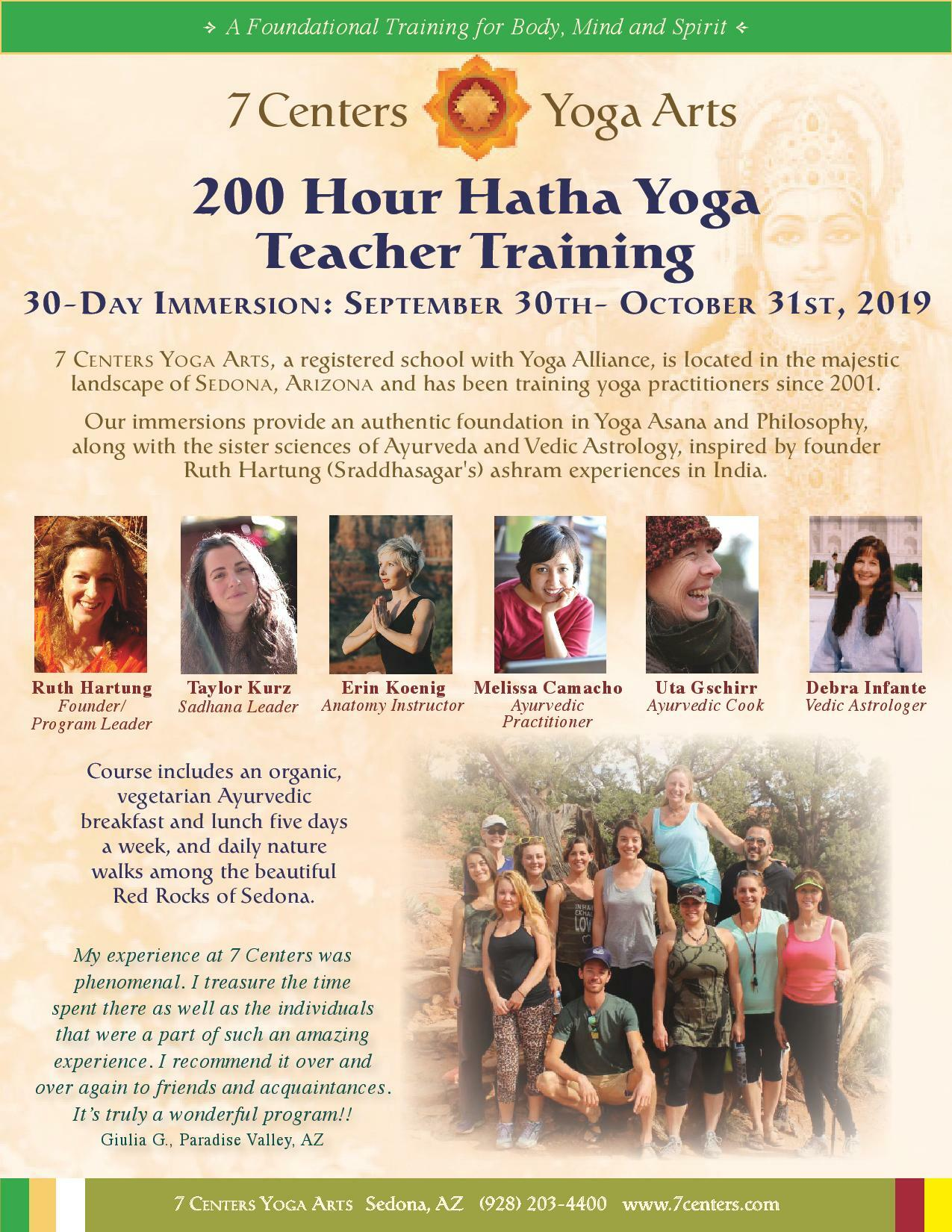 200hr Hatha Yoga Teacher Training