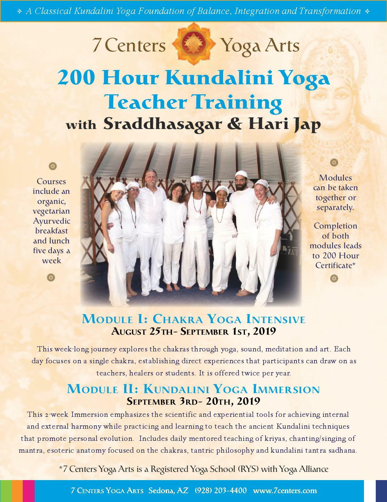 200hr Kundalini Yoga Teacher Training