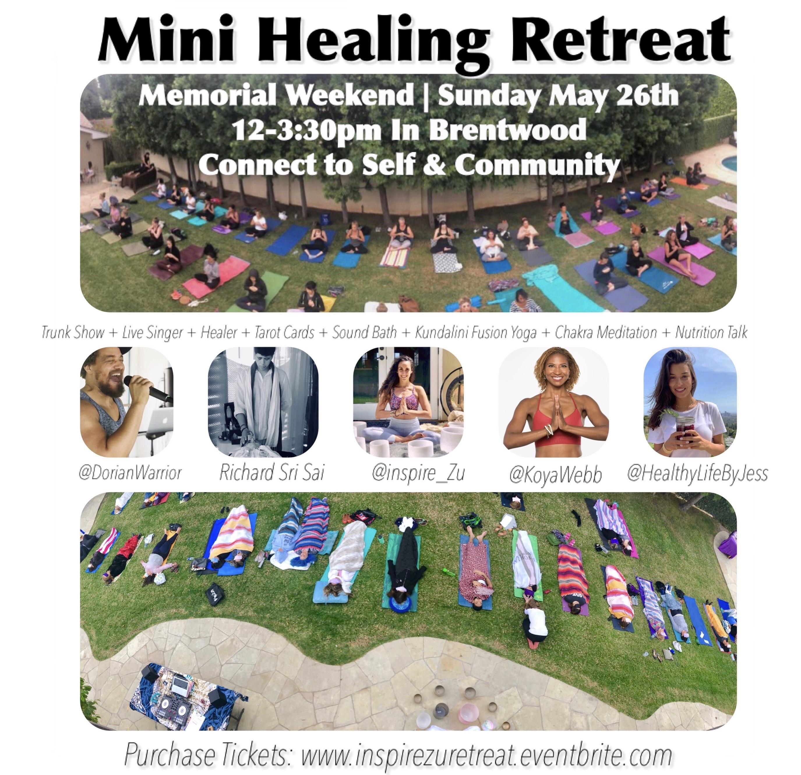 Healing Wellness Day Retreat > Head + Heart: Spiritual + Wellness Events