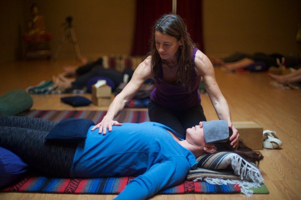 Restorative Yoga, Reiki & Hot Stones with EwaLitauer < Head + Heart