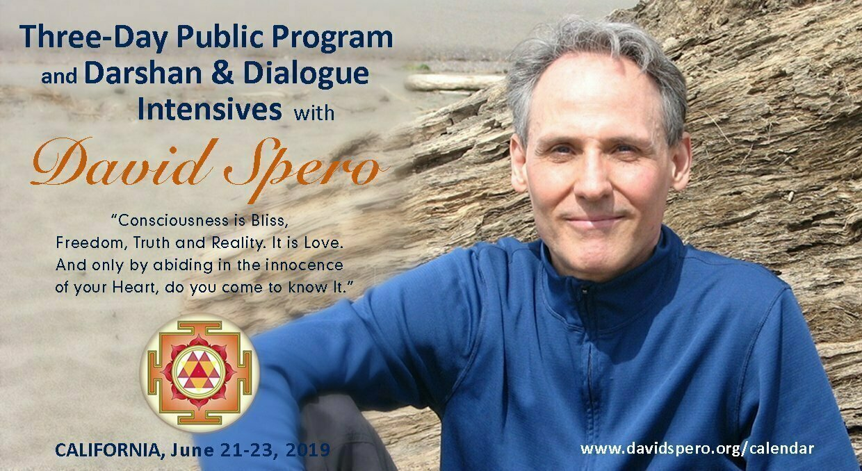 Darshan and Dialog Intensive with Master David Spero