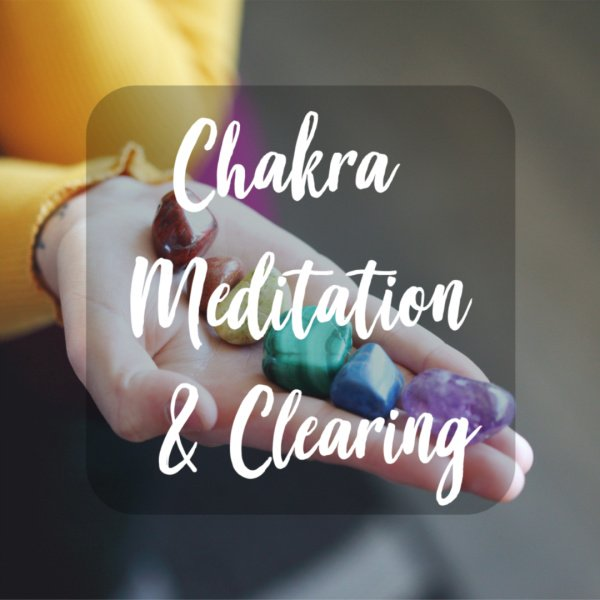 Chakra Meditation & Clearing – Head + Heart