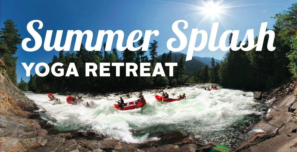Summer Splash Rafting and Partner Yoga Retreat