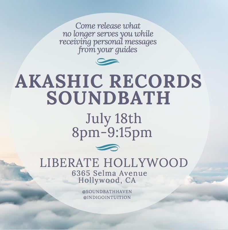 Akashic Sound Bath