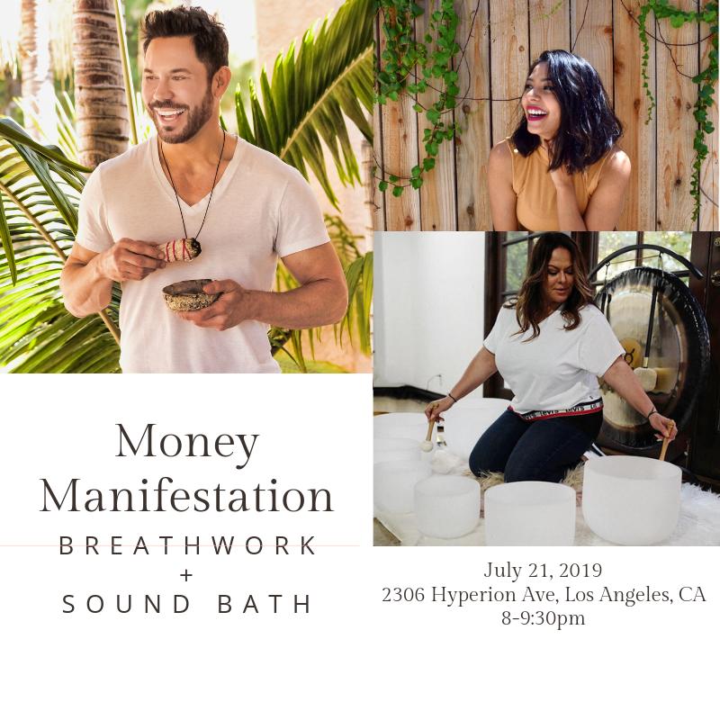 Money Manifestation Breathwork + Sound Bath