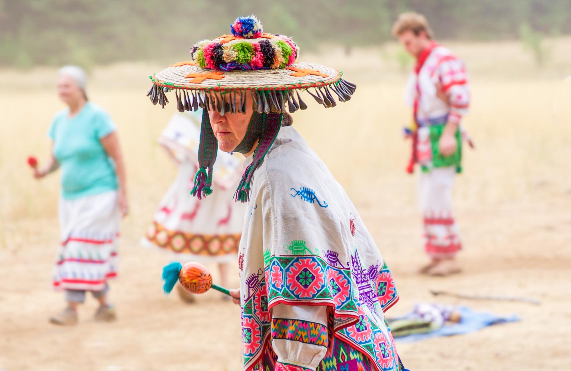 Shamanism Community Circle for Huichol Deer Dance // Head + Heart