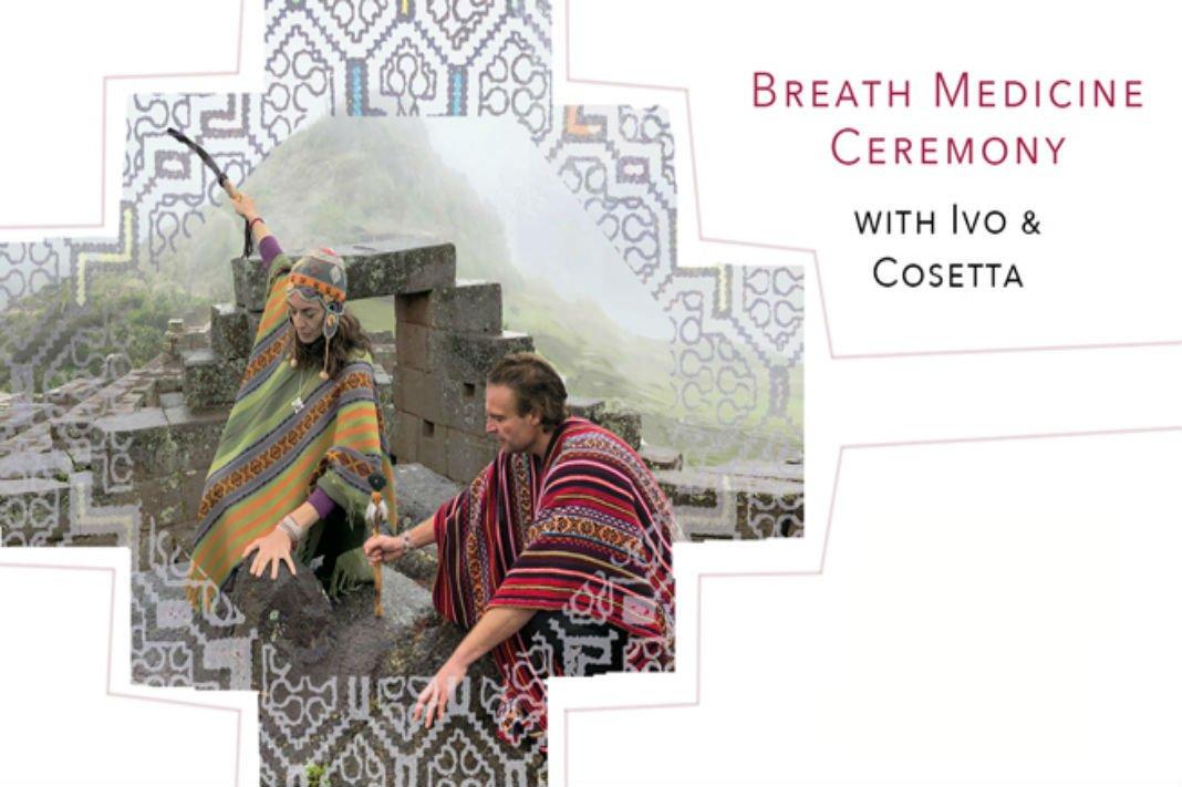 Breath Medicine Ceremony with Cosetta Romani & Ivo Grossi < Head + Heart
