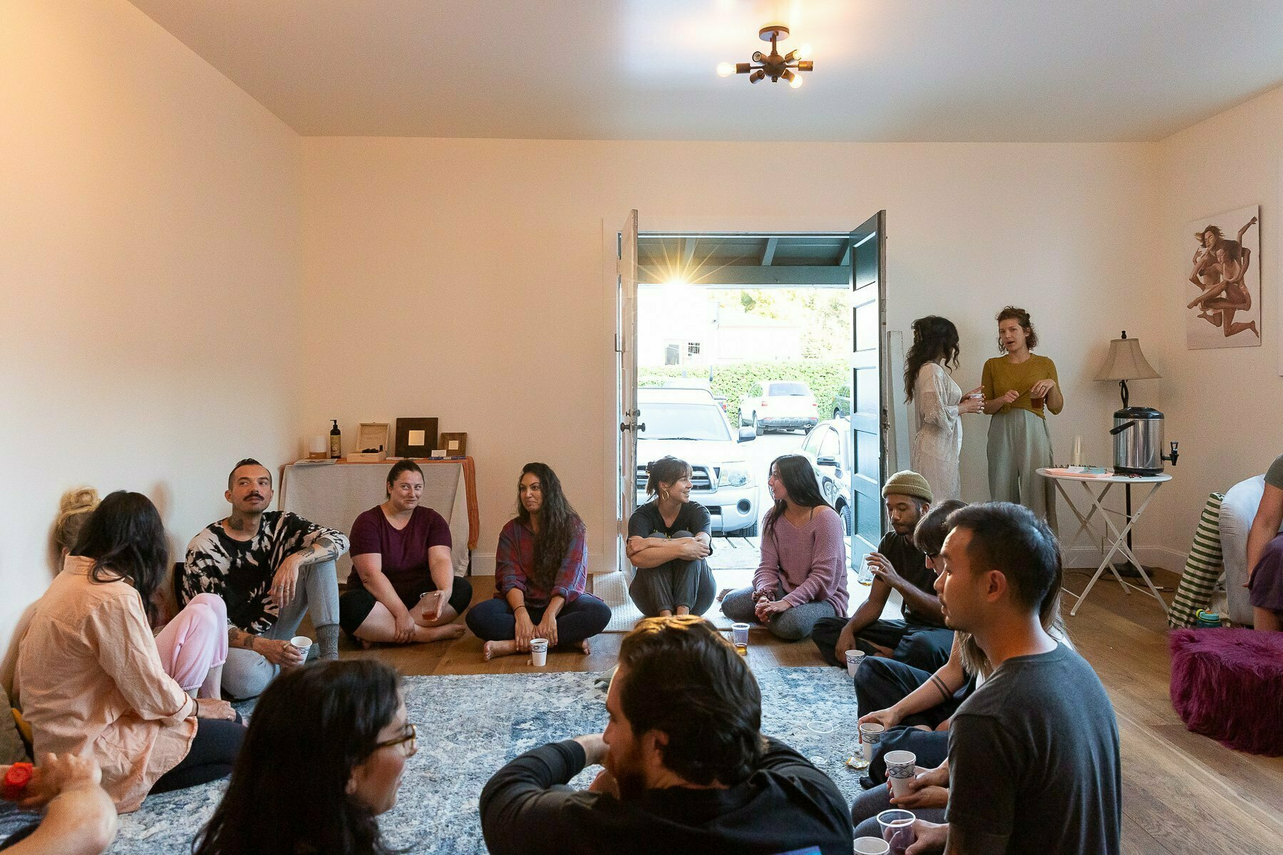 Women's Circle and Men's Group at The Heartbeat Collective in SF