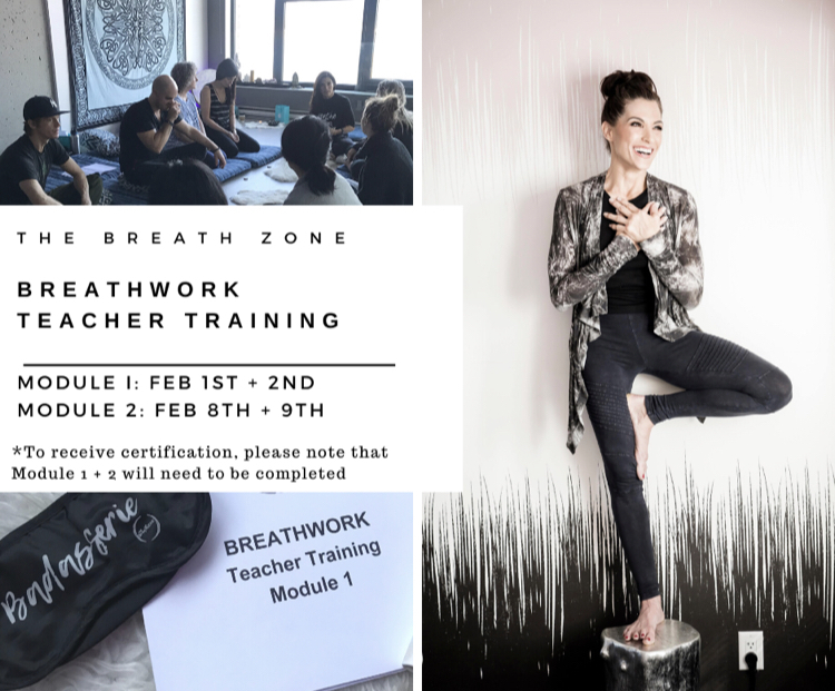 Breathwork Certification Teacher Training Vancouver BC