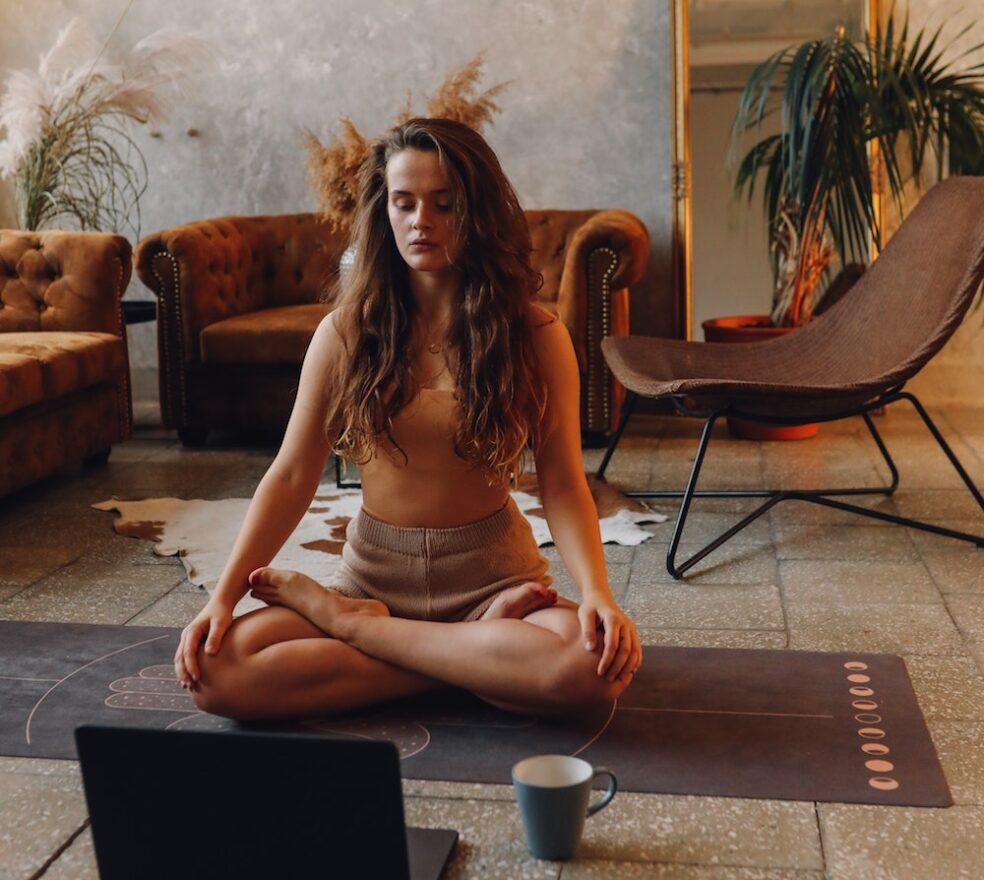seven days of livestream meditations