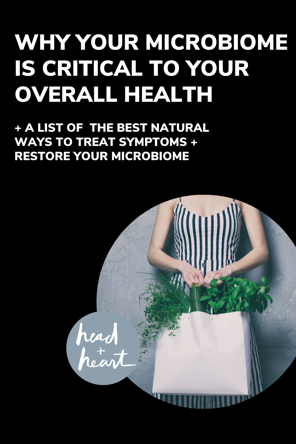Why Your Microbiome is Central to Your Health | Head + Heart