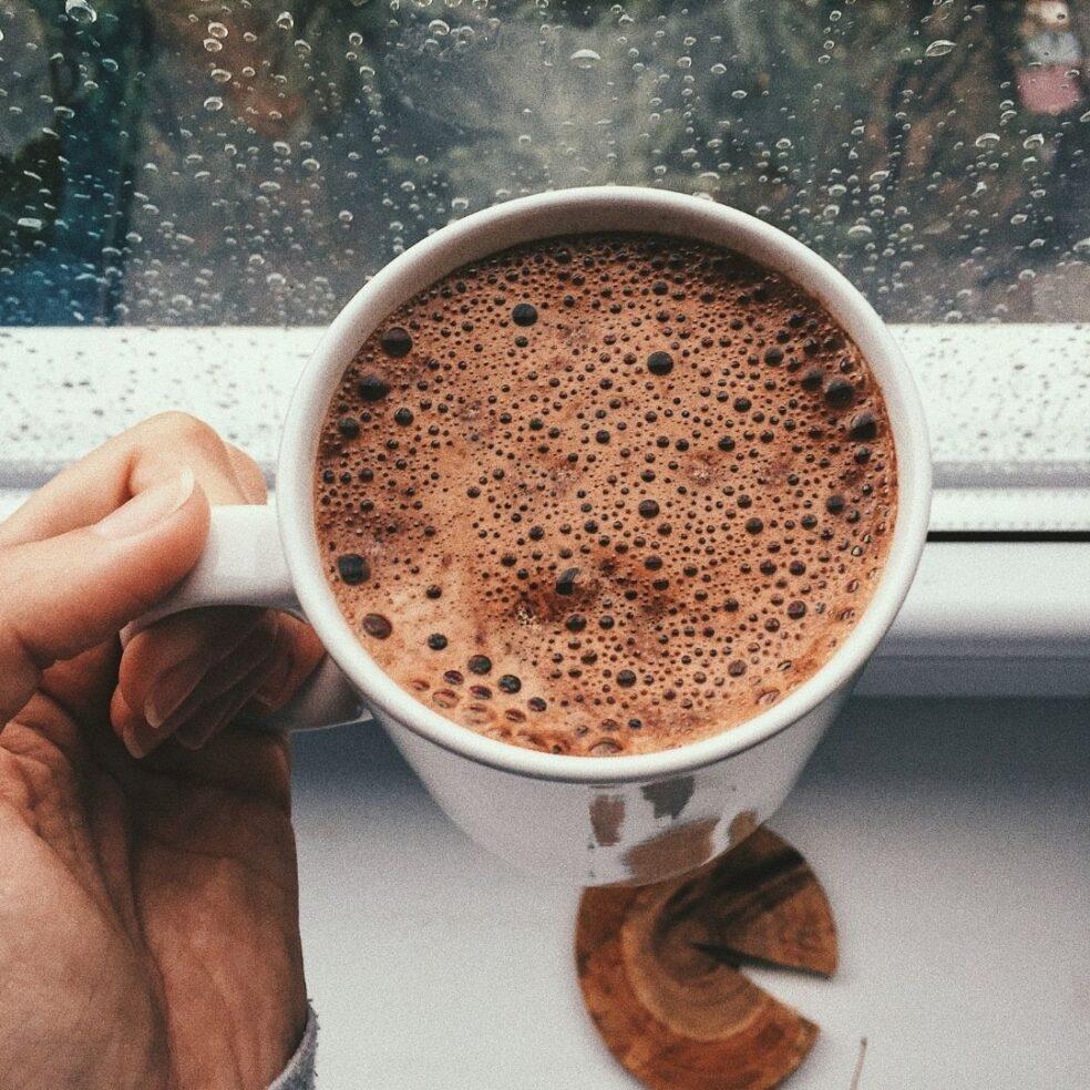 Cacao pod cacao elixer